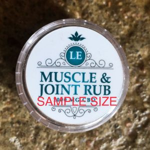 L.E. Muscle & Joint 1000 mg Salve Sample Size