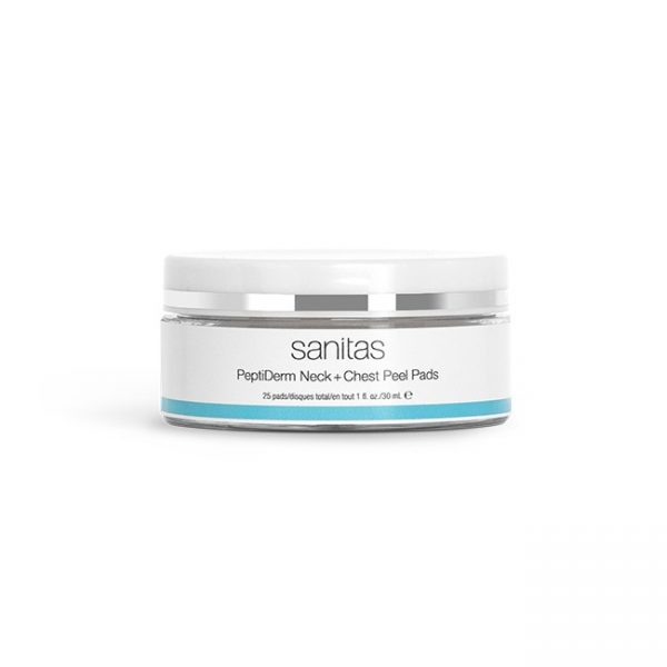 PeptiDerm Neck + Chest Peel Pads