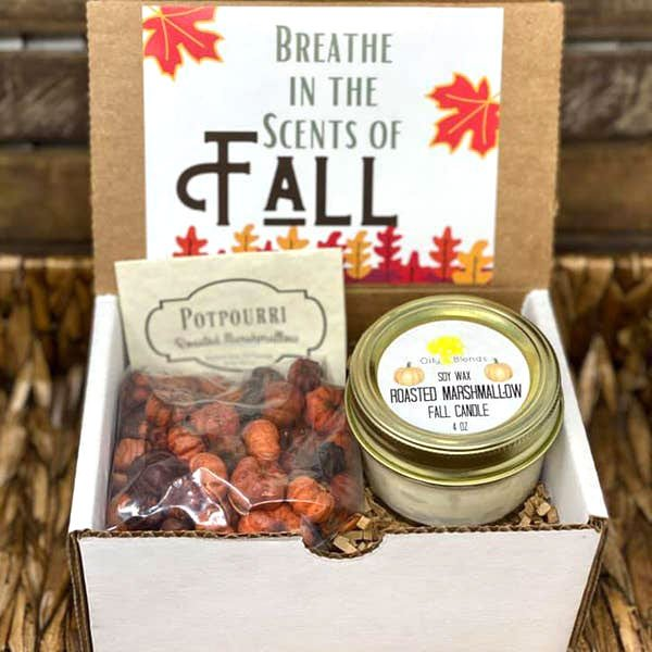 Candle & Potpourri Fall Gift Boxes